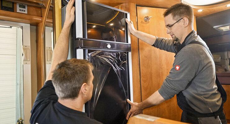 Kühlschrank In Auto Einbauen : Reisemobile optimieren kühlschrank tauschen promobil