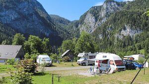 Roßleithen: idyllisch gelegener kleiner Campingplatz.