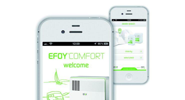 SFC Energy, Anbieter für portable Stromerzeugung, hat die kostenlose Efoy App um zusätzliche Funktionen erweitert.
