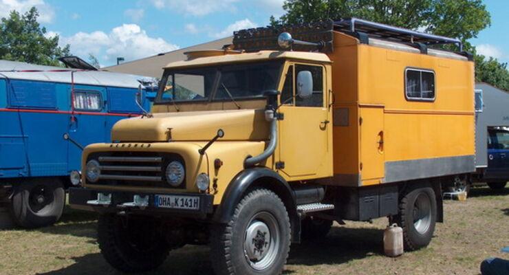Saarland Hanomag reisemobil wohnmobil