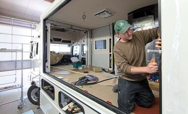 werkstatt tipps f r ihr wohnmobil seite 2 promobil. Black Bedroom Furniture Sets. Home Design Ideas
