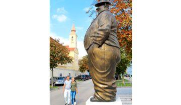 Spaßfigur Wachau