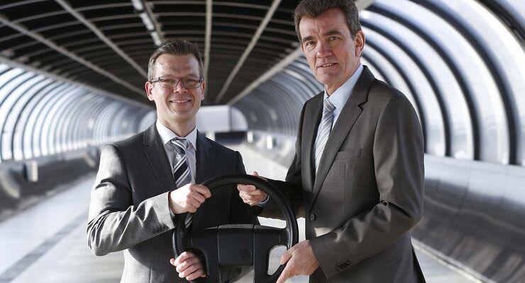 Stefan Koschke (links) und Helmut Winkler