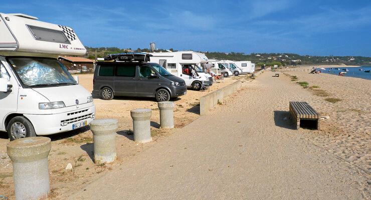 Stellplatz-Tipp Portugal, Foz do Arelho