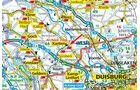 Stellplatz-Tipp: Xanten, Karte