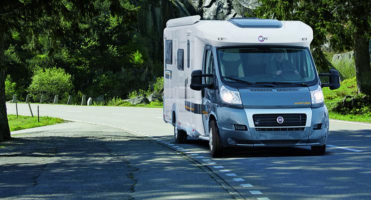 TEC zeigt auf der Reise + Camping 2011 in Essen auf 700 Quadratmetern Ausstellungsfläche sechs Reisemobile und elf Caravans aus dem Produktprogramm