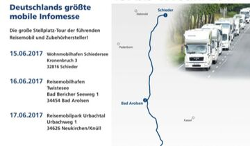 Technik Caravane Route