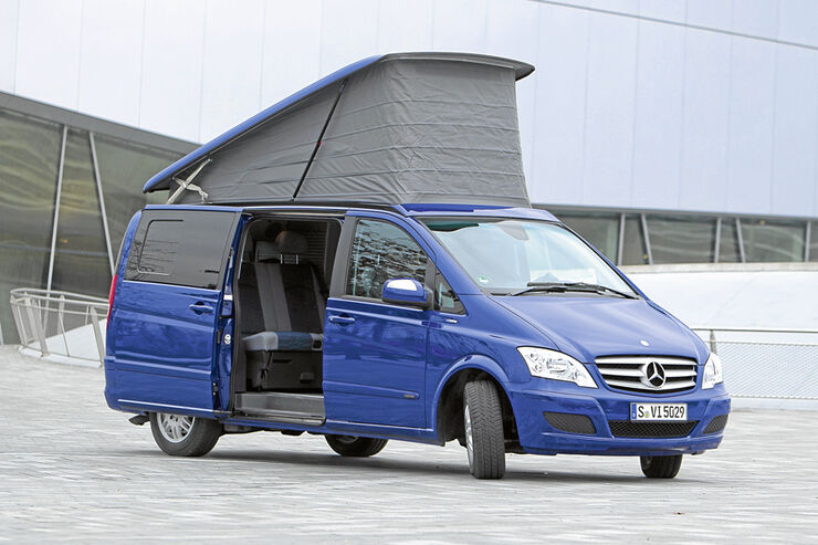 Test, Mercedes Marco Polo