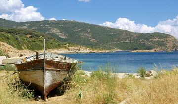 Thema des Monats: Strandgut, Traumstrände, CAR 07/2012 - Korsika