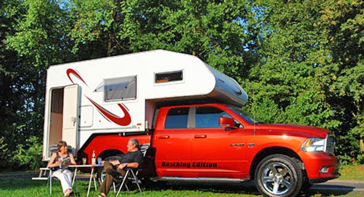 Tischer Kabine Dodge Ram V-8 Reisemobil Wohnmobil