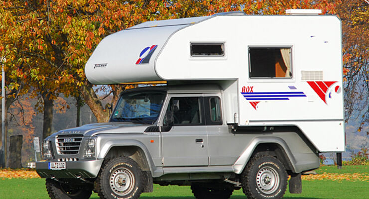 Tischer Trail 200 auf Iveco Massiv Wohnmobile Reisemobile Allrad Offroad CMT 2009