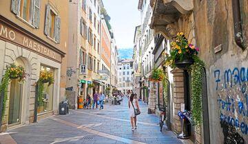 Trient ist die Kapitale des Trentino und drittgrößte Stadt der Alpen