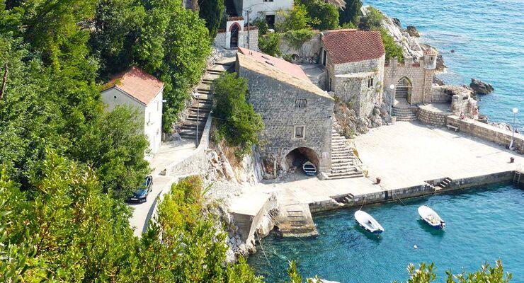 Trsteno liegt nur 18 Kilometer nördlich von Dubrovnik