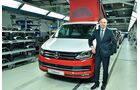 VW California Produktion