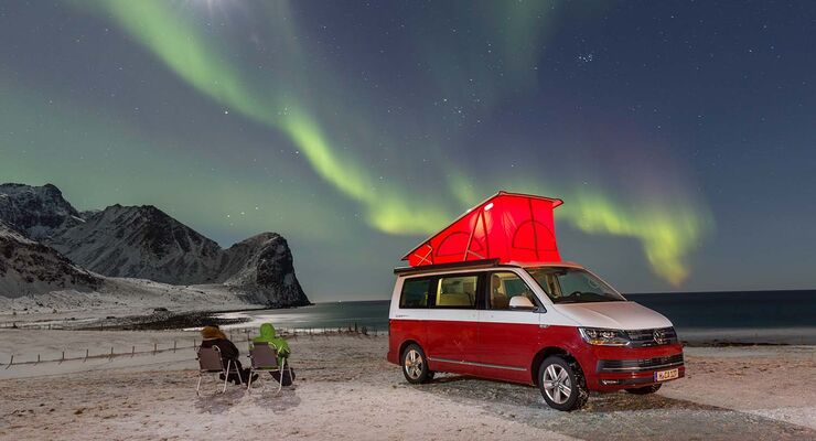 VW California in Norwegen: Camping-Tour auf den Lofoten - Promobil