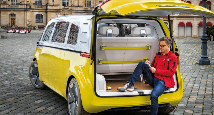vw i d buzz 2017 elektro bulli soll 2022 auf markt. Black Bedroom Furniture Sets. Home Design Ideas