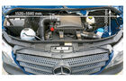 Vergleichstest, Basisfahrzeuge, Servicefreundlichkeit: Mercedes-Motor