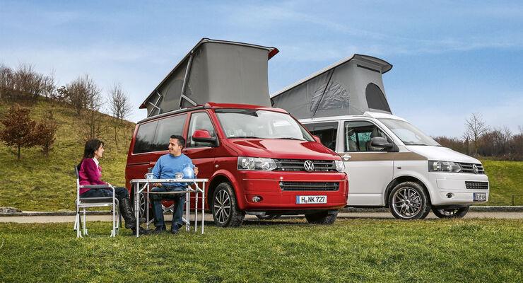 Vergleichstest: Hymer Car Cape Town / VW California Comfortline