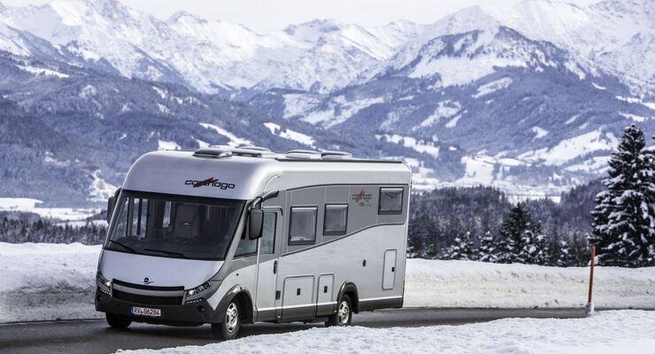 """Vom 21. bis 24. Februar 2014 veranstaltet Carthago das beliebte Wintertreffen. Ziel ist der Campingplatz """"Seeblick Toni"""" in Kramsach/Tirol."""
