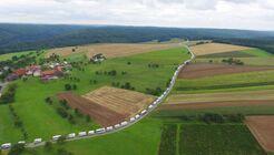 Wohnmobil-Konvoi Weltrekord