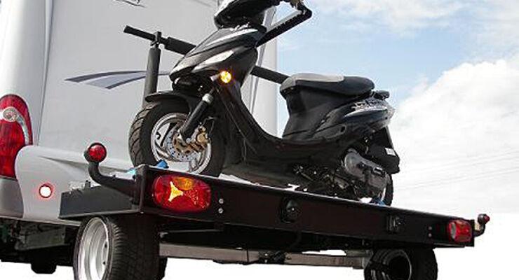 Wohnmobil Reisemobilgarage Anhänger Motorrad