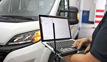 Wohnmobil Sicherheit: Fahrerhaus