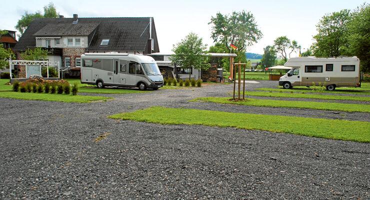 Wohnmobil-Stellplatz Hobbywiese in Korbach