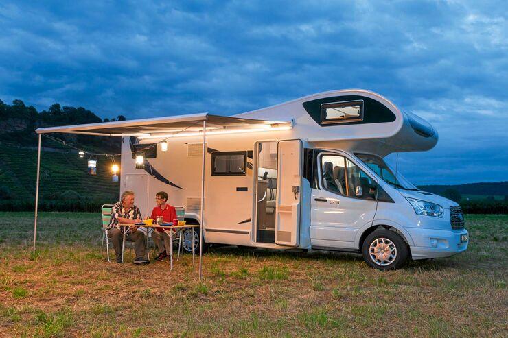 Campinglampen F R Die Markise Und Drau En Im Test Promobil