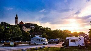 Wohnmobilstellplatz Kloster Andechs