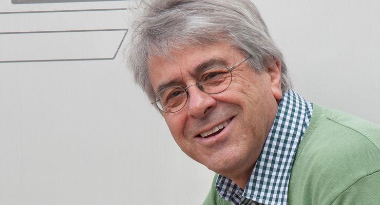 Wolfgang Baumeister, Präsident der Reisemobil Union