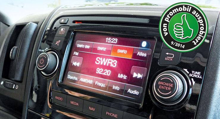 Zubehör, Ausprobiert, Fiat-Multimedia-Radio