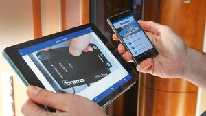 iNet-Box Fernsteuerung auf Smartphone und Tablet