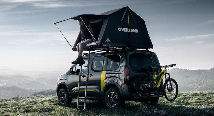 peugeot rifter 4x4 concept (2018): outdoor-hochdachkombi - promobil