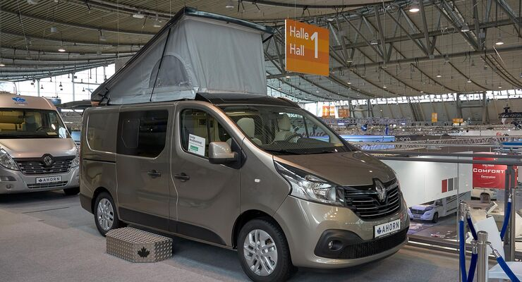 ahorn van city campingbus auf renault traffic promobil. Black Bedroom Furniture Sets. Home Design Ideas