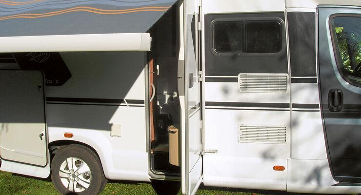 lesertipp f r eine trockene t r am wohnmobil promobil. Black Bedroom Furniture Sets. Home Design Ideas