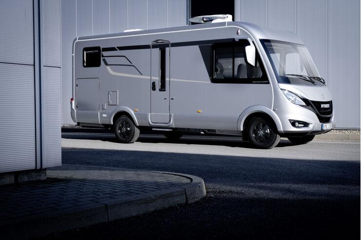 Hymer Wohnmobil Und Campingbus Neuheiten 2019 Promobil
