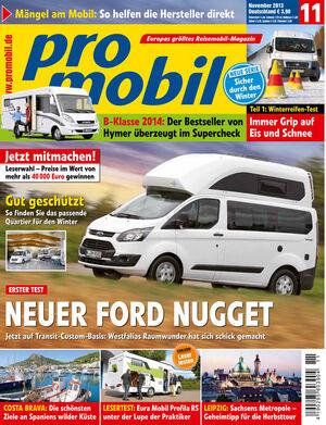 promobil Heft 11/2013