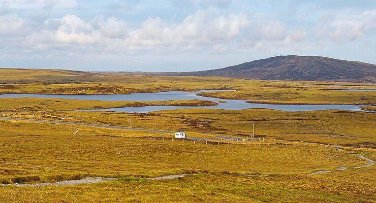promobil-Leser Fritz Hahnemann aus Mickhausen schickte uns dieses Urlaubsfoto von der Insel North Uist in Schottland.