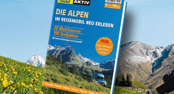 promobil aktiv Bookazine Alpenländer